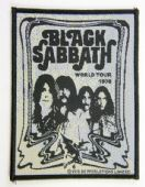 Black Sabbath - 'Group World Tour 1978'  Woven Patch